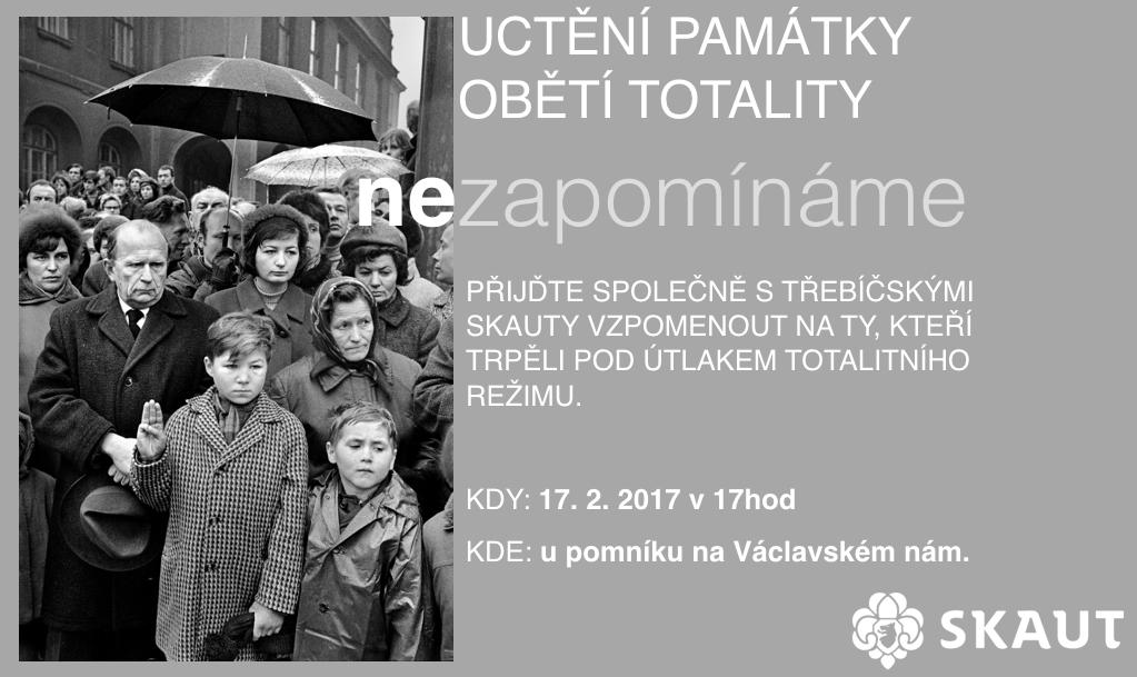 oběti totality 2017